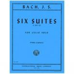 6 Suites para Violoncello Solo - J. S. Bach - BWV 1007-1012 / Pierre Fournier