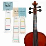 Escala Adesiva para Marcação - First Frets - Violino 3/4 e Viola 13 - 33