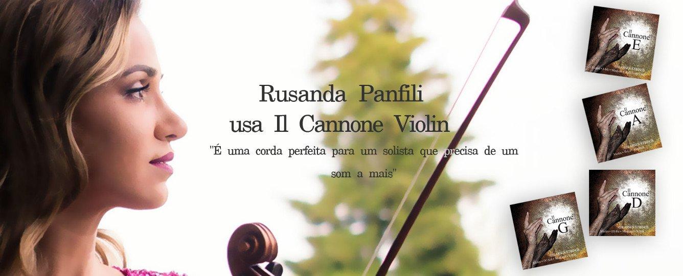 Jogo de Cordas / Encordoamento para Violino 4/4 - Larsen Il Cannone