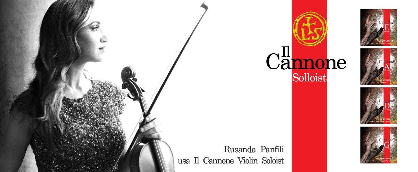 Jogo de Cordas / Encordoamento para Violino 4/4 - Larsen Il Cannone Soloist