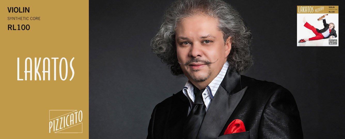 Jogo de Cordas para Violino - THOMASTIK LAKATOS PIZZICATO